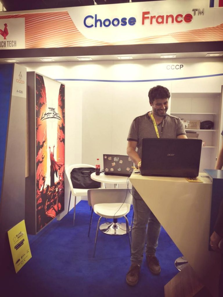 Gamescom - French booth