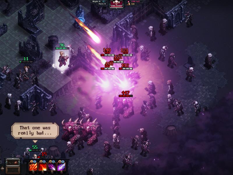 The Last Spell - Meteor Attack