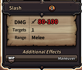 The Last Spell - Slash skill
