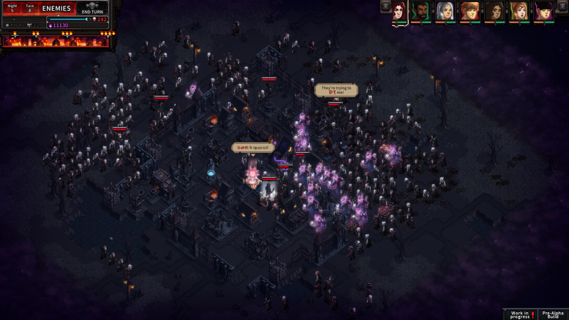 The Last Spell Presskit - Hordes of monsters