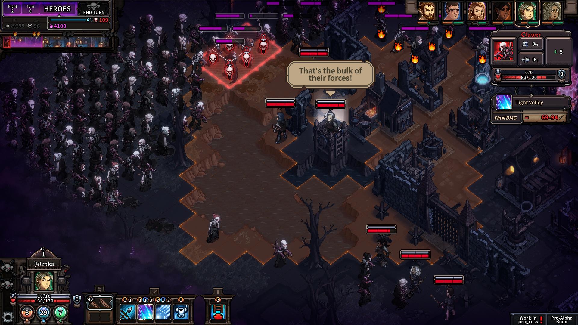 The Last Spell - Observation des ennemis depuis une tour de guet